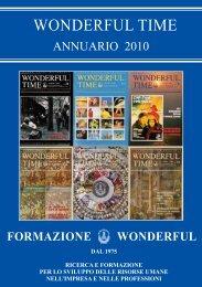 WONDERFUL TIME Annuario 2010