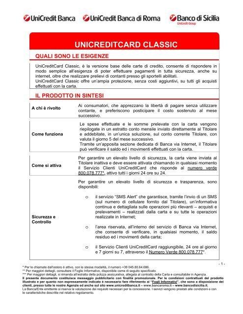 Unicredit area clienti saldo e movimenti conto corrente