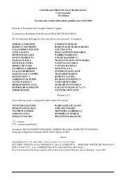 Pianta organica_12.10.2009_2008 - Ordine dei Farmacisti della ...