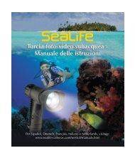 Torcia foto-video subacquea - Sealife Cameras
