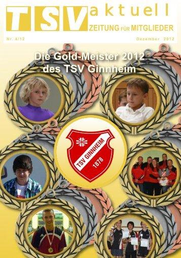 aktuell - TSV Ginnheim