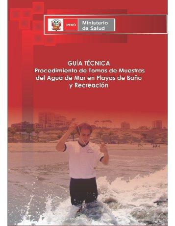 Guía Técnica Procedimiento de Toma de Muestra del Agua de Mar ...