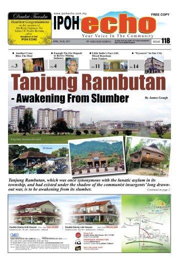 Tanjung Rambutan - Ipoh Echo