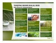 TANJUNG MANIS HALAL HUB - STIDC