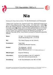 Nia - TSV Haunstetten