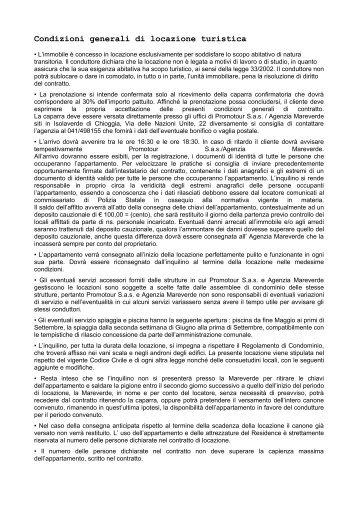 Contratto di locazione finanziaria di beni immobili for Contratto di locazione turistica