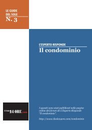 N. 3 Il condominio - Il Sole 24 Ore