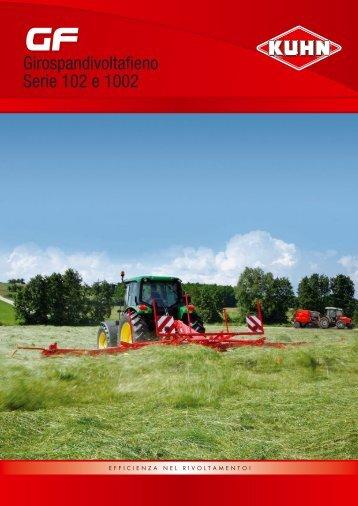 GF Serie 102 e 1002 - Kuhn