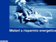 Motori a risparmio energetico - CMS MOTORI ELETTRICI Parma