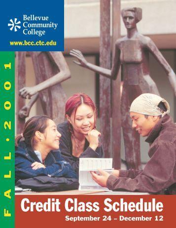 Fall 2001 - Bellevue College