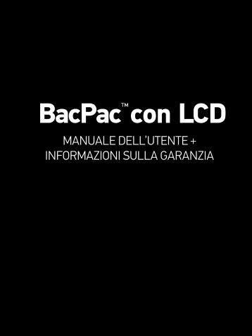 BacPac™ con LCD