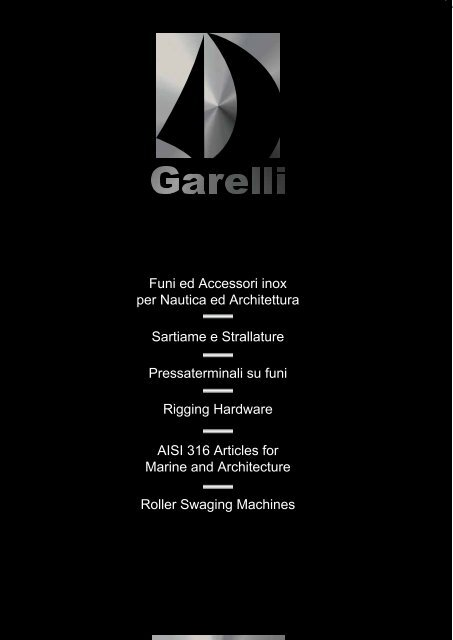 Catalogo generale - Main catalogue 2009 (pdf - 3.4 MB) - Garelli