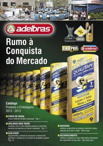 Produtos e Embalagens 2012 - Adelbras