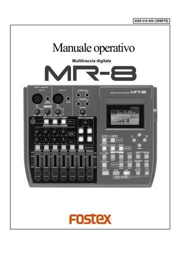 Manuale operativo - Strumenti Musicali .net