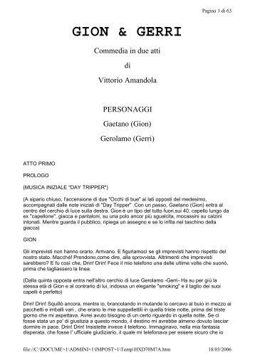GION & GERRI - Vittorio Amandola