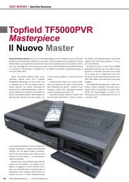 Topfield TF5000PVR Masterpiece Il Nuovo Master