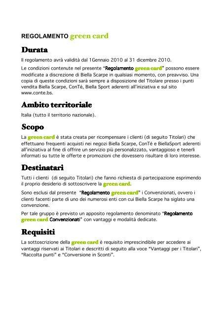 Regolamento Regolamento Green Green Card Contᄄᆭ Card Regolamento Green Card Contᄄᆭ f6Ig7yYbv