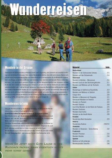 Wandern in der Gruppe Wanderausrüstung - Design-smetanski.de