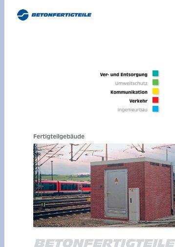 Fertigteilgebäude - B+F Beton- und Fertigteilgesellschaft mbH