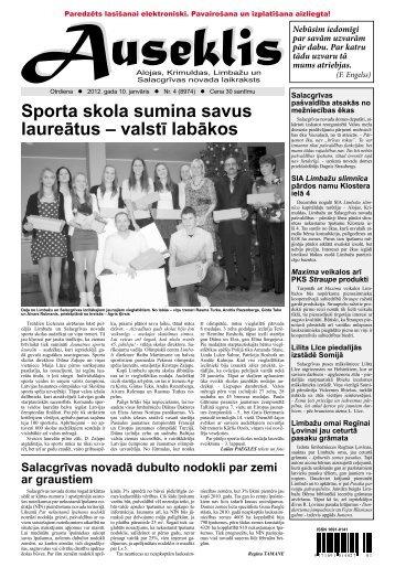 Sporta skola sumina savus laureātus – valstī labākos - Auseklis
