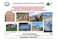 Zum Vortrag - Bioenergie-Region-Ludwigsfelde
