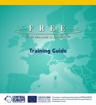 Training Guide from Research to Enterprise - Central Europe