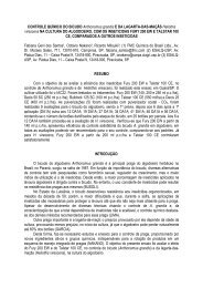 CONTROLE QUÍMICO DO BICUDO Anthonomus grandis E DA ...