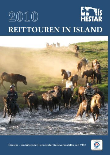 REITTOUREN IN ISLAND - Ishestar