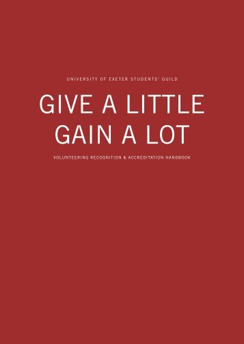 give a little get a lot