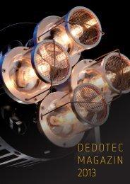 DEDOTEC MAGAZIN 2013 - Dedotec Schweiz
