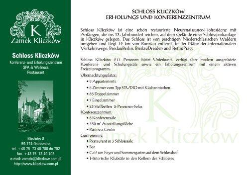 schloss kliczków erholungs und konferenzzentrum - Hotel Tumski