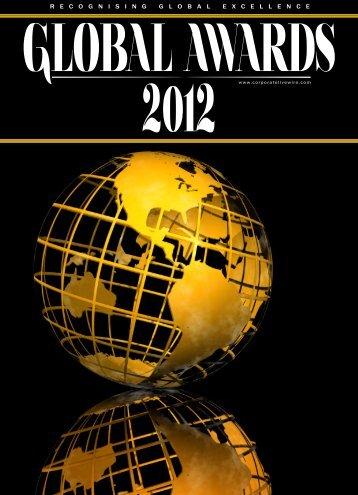 GLOBAL AWARDS 2o12