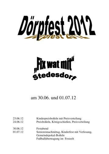 klicken - KBV Stedesdorf