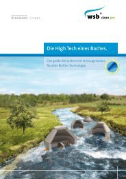 Prospekt WSB® clean pro - Kläranlagen, Kleinkläranlagen und ...