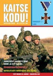 Kaitse Kodu! nr. 8/2007 - Kaitseliit