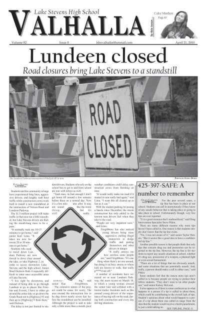 Issue 8: April 21, 2010 - Lake Stevens School District #4