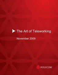 The Art of Teleworking - PGi