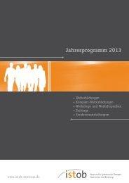 Das Programm 2013 als Download hier - Istob-Zentrum