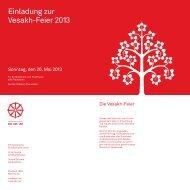 Programm - Schweizerische Buddhistische Union