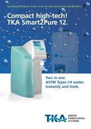 Compact high-tech! TKA Smart2Pure 12.