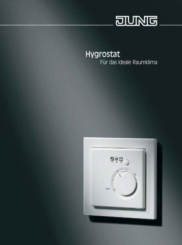 Hydrostat | Für das ideale Raumklima - Jung