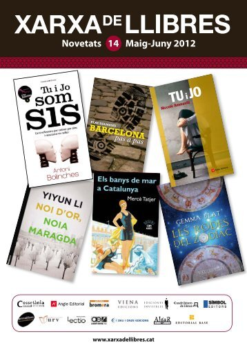 Maig-Juny 2012 Novetats 14 - Xarxa de Llibres