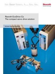 Rexroth EcoDrive Cs The compact servo drive solution