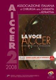 La Voce AICCER n. 2 anno 2008