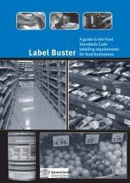 Label Buster Guide - Queensland Health - Queensland Government