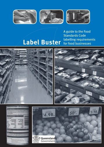 Label Buster Guide - Queensland Health - Queensland Government