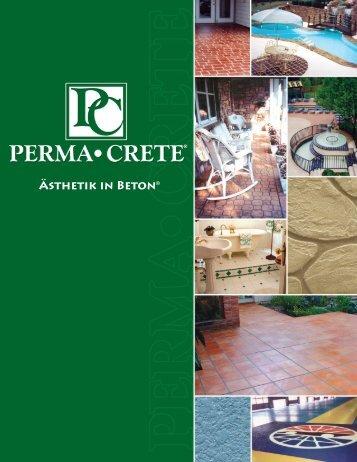 Ästhetik in Beton® - PermaCrete