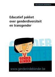 Educatief pakket over genderdiversiteit en transgender