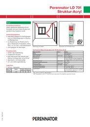 Perennator LD 701 Struktur-Acryl - Tremco illbruck