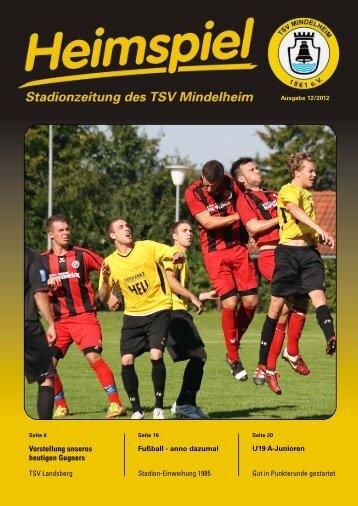 2012-09-15 TSV Mindelheim - TSV Landsberg